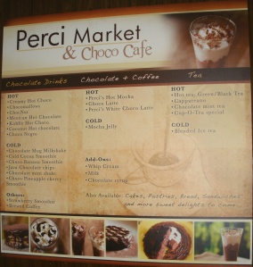 Perci Market and Choco Cafe