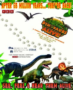 Dinosaurs Alive 2012